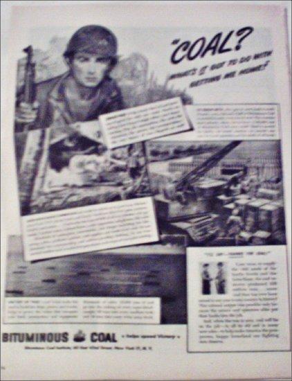 1945 Bituminous Coal Institute ad