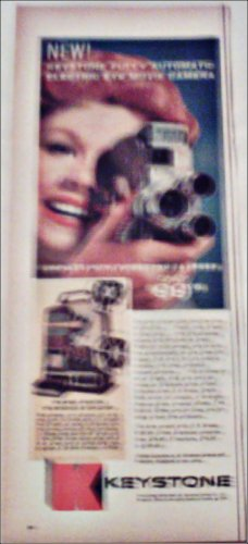 1959 Keystone KA Electric Eye Movie Camera ad