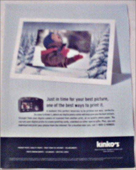 2000 Kinkos Photo Center ad