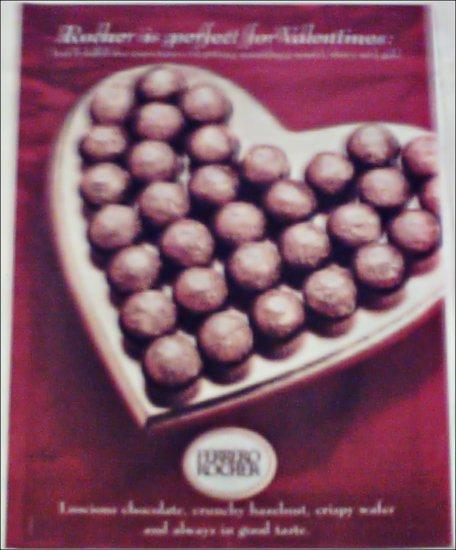 2000 Ferrero Rocher Valentines ad