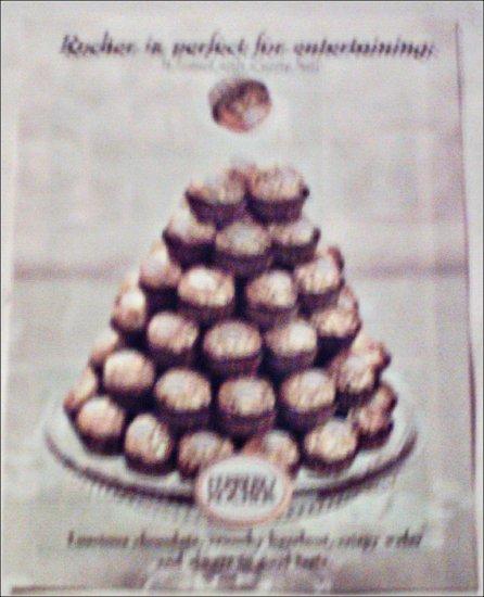2000 Ferrero Rocher Party ad
