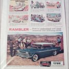 1960 American Motors Rambler Custom 4 dr ht car ad