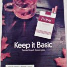 1997 Basic Cigarettes ad