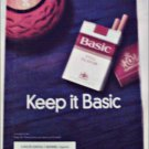 1998 Basic Cigarettes Candle ad