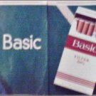 1998 Basic Cigarettes ad
