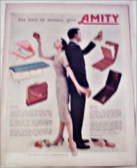 Amity Leather Products ad