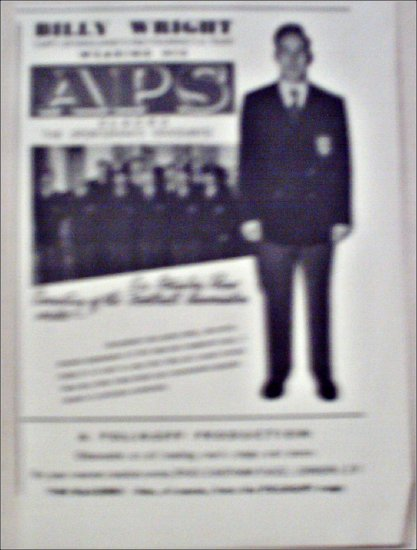 1952 APS Slacks ad from Great Britain