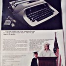 1969 Royal Ultronic Electric Typewriter ad