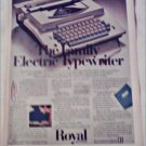 1969 Royal Family Electric Typewriter ad