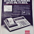 Sharp EL-7050 Calculator ad