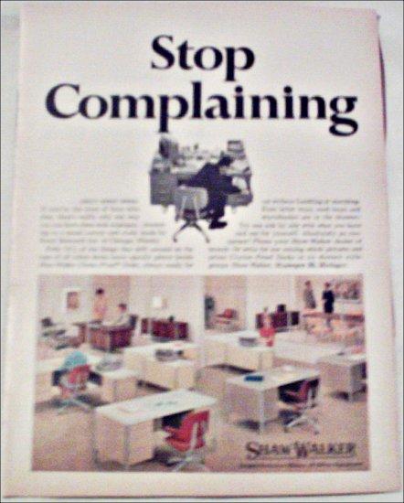 Shaw-Walker Desk ad