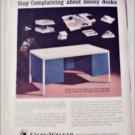 1965 Shaw-Walker Desk ad