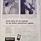 Bostitch ad
