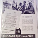 1941 Kodak Cine'-Kodak Eight Movie Camera ad