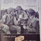 1945 Kodak Film ad