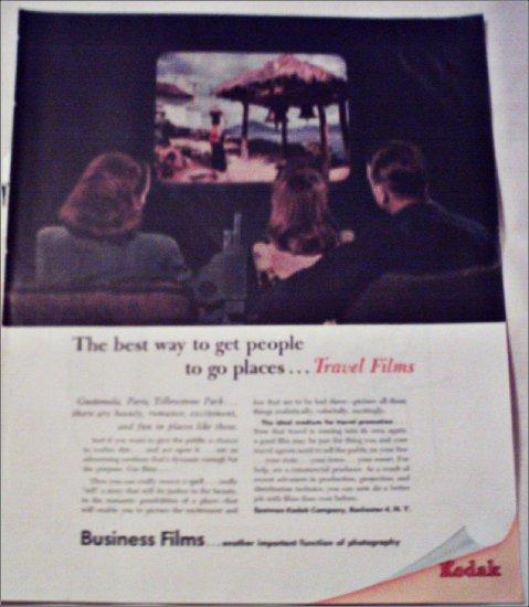 Kodak Business Travel Films ad