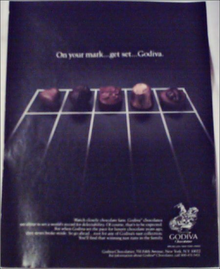Godiva Chocolates ad