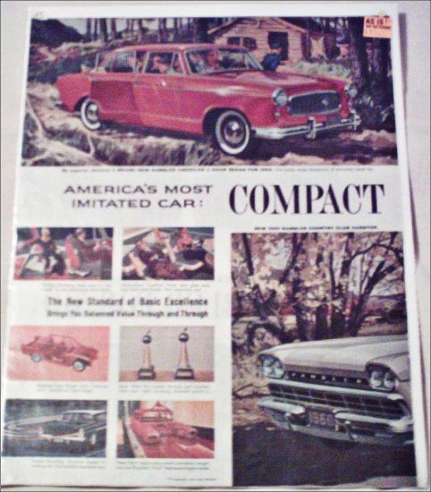 1960 American Motors Lineup car ad