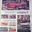1960 American Motors Lineup car ad