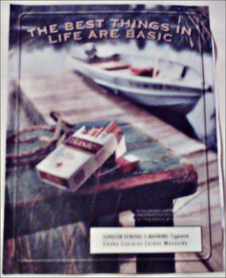2000 Basic Cigarettes Boat ad