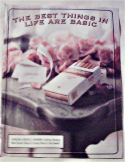 2000 Basic Cigarettes Roses ad