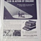 Smith-Corona Typewriter ad