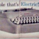 1959 Smith-Corona Electric Portable Typewriter ad
