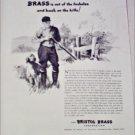 Bristol Brass Postwar Production ad