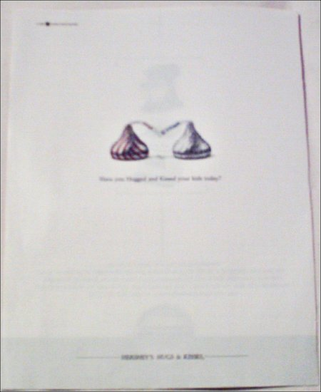 2000 Hershey's Hugs and Kisses ad