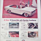 1961 American Motors Rambler Convertible car ad