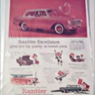 1961 American Motors Rambler American 2 dr sedan car ad