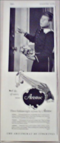 1955 Aristoc Nylon Stockings ad from Great Britain