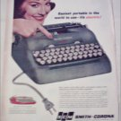 1960 Smith-Corona Electric Portable Typewriter ad