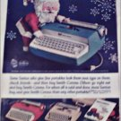 Smith-Corona Coronet, Galaxie, & Corsair  Typewriters Christmas ad