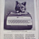 1964 Smith-Corona Electric Portable Typewriter ad
