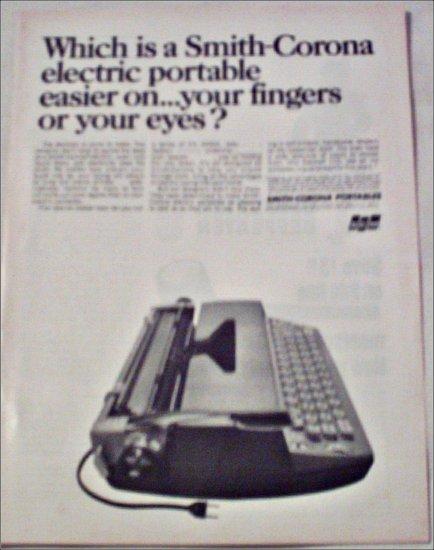 1966 Smith-Corona Electra 110 Electric Typewriter ad
