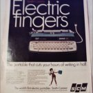 1967 Smith-Corona Electra 110 Electric Typewriter ad