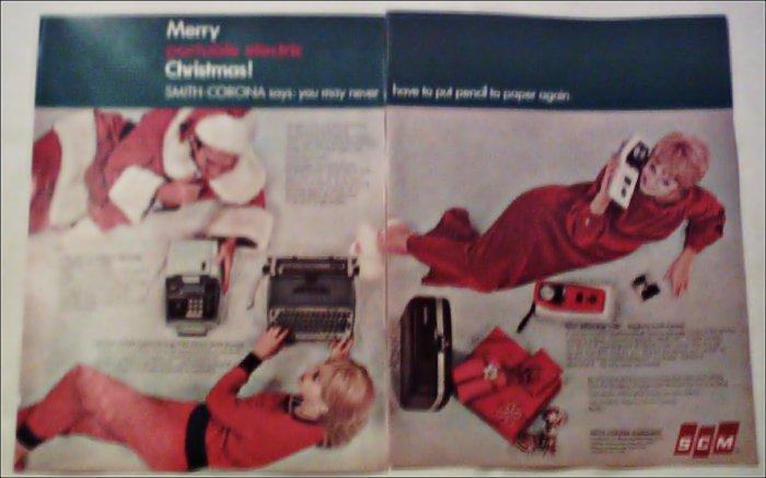 Smith-Corona Business Machines Christmas ad