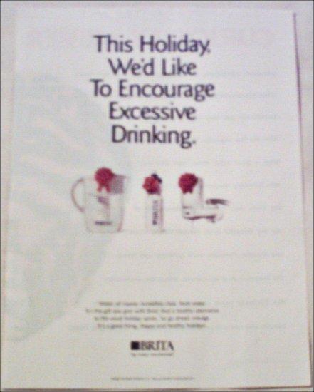 2000 Brita Water Filter Christmas ad
