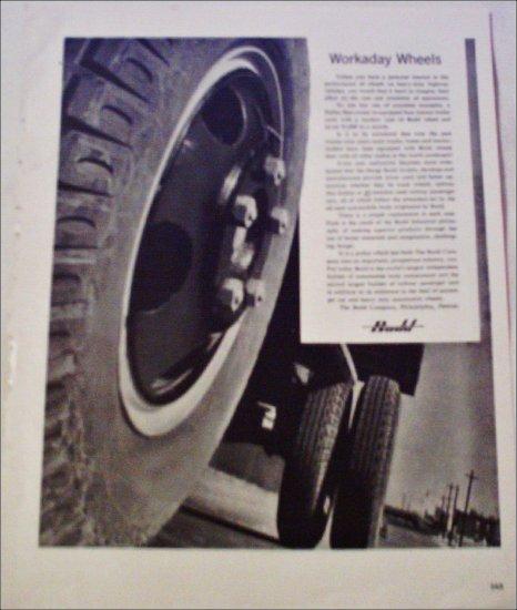 Budd Company Wheel ad