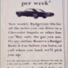 1965 Budget Rent A Car ad
