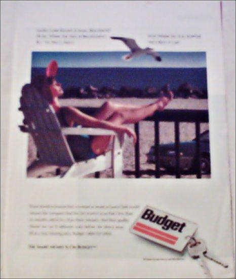 1989 Budget Rent A Car ad
