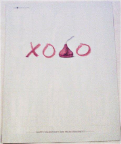 1997 Hershey's Kisses Valentines ad
