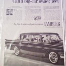 1961 American Motors Rambler Classic 4 dr sedan car ad