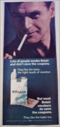 1966 Belair Cigarettes Coupon ad #3