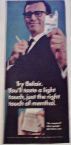 1967 Belair Cigarettes ad