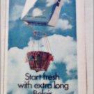 1970 Belair Cigarettes Balloon ad