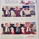 1951 Arrow Shirts ad