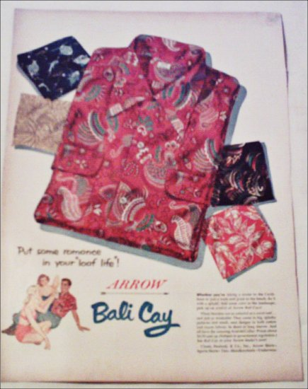 Arrow Bali Cay Shirt ad