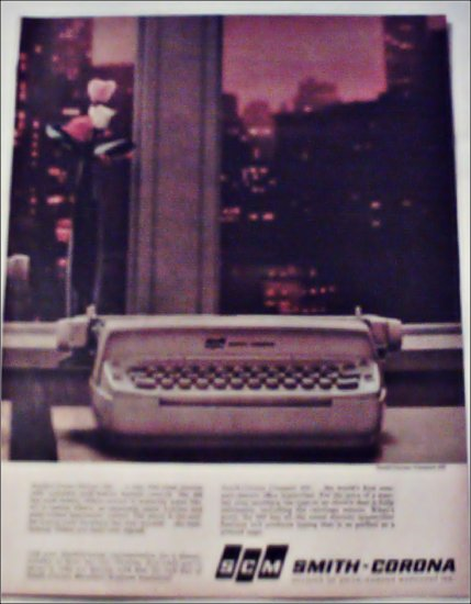 Smith-Corona Compact 200 & Deluxe 400 Electric Typewriter ad